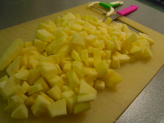 Sliced and Diced apples