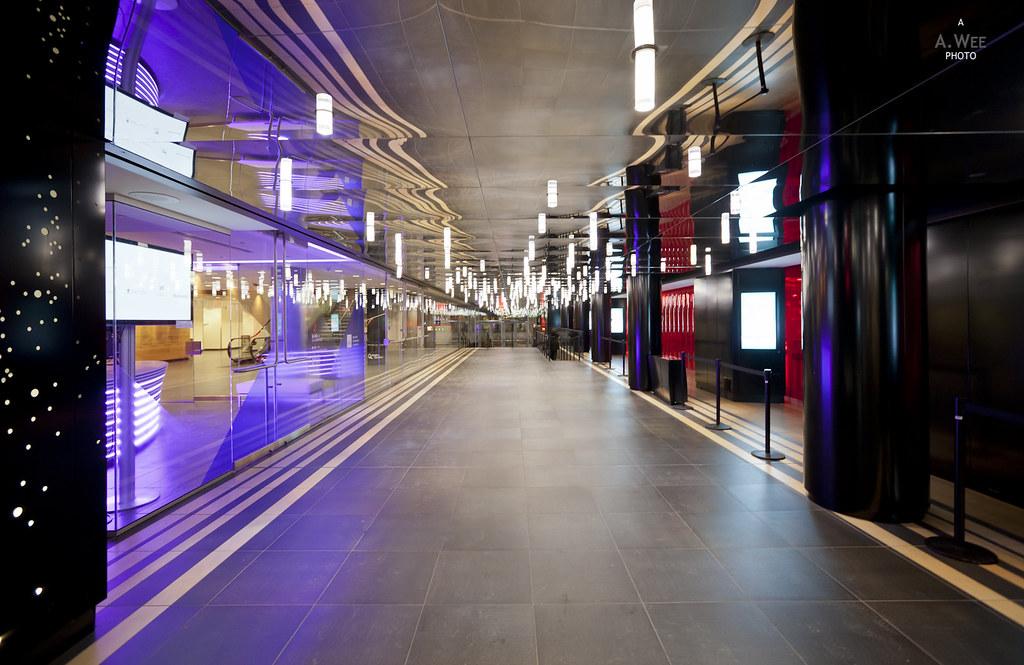 Inside Place des Arts
