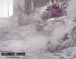 坦克战:活活烧死19