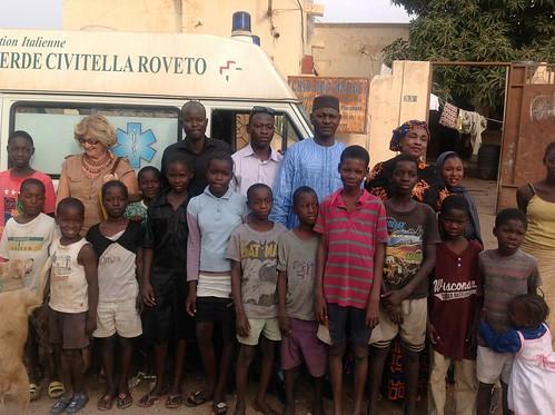 Arrivata in Mali l'ambulanza della Croce Verde di Civitella Roveto