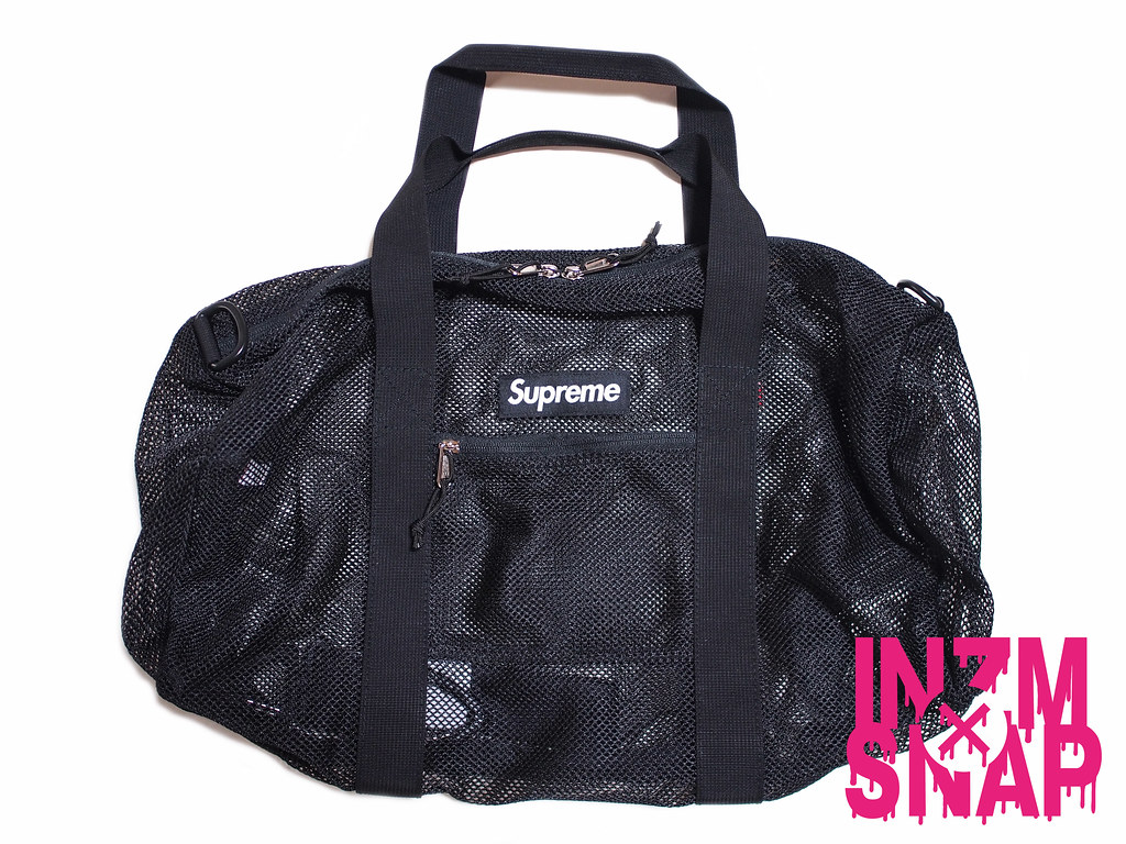 Supreme | Mesh Duffle Bag