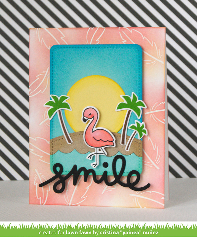 Smile flamingo
