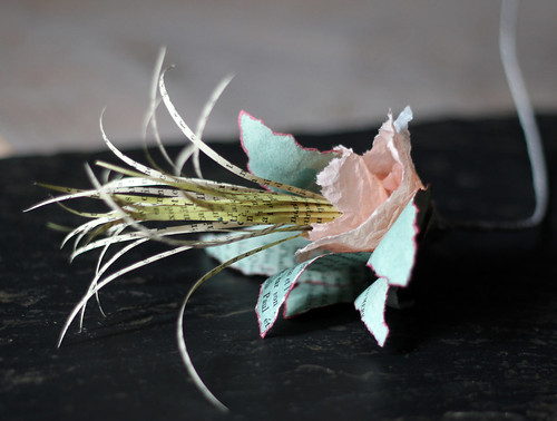 Fleur d'amande - Tissue Paper Flower by Patricia Chemin