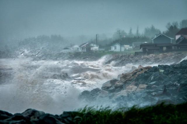 A Stormy Bay