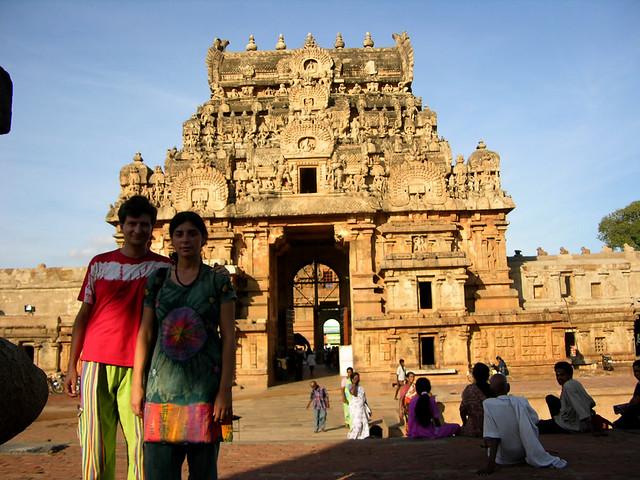 Entrada al templo de Brihadesvara
