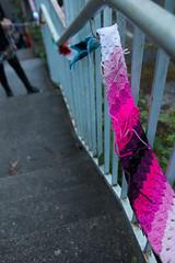Yarn bombing Besançon 12