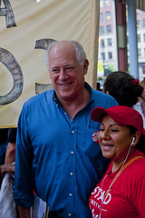 Former Illinois Governor Pat Quinn Poses for Pictures Chicago Teachers Union Rally 6-22-16 2301