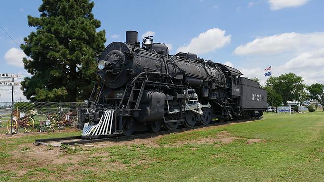 Santa Fe 3424 Steam Engine