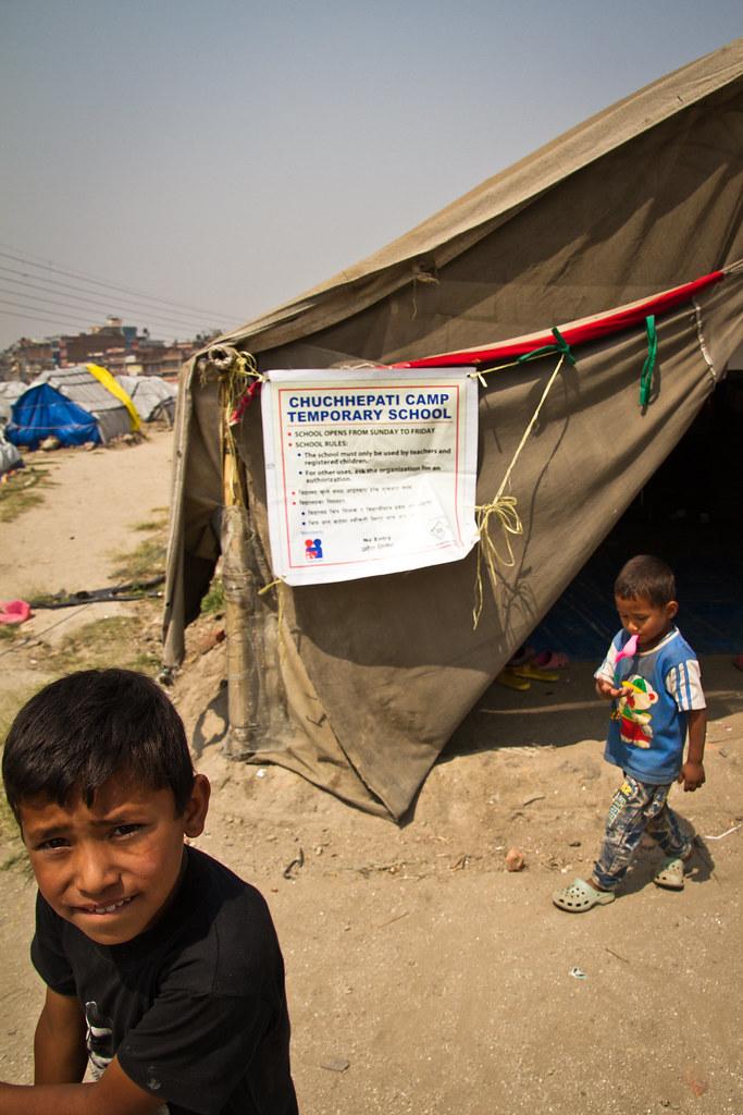 Chuchepatin telttaleiri, Nepal