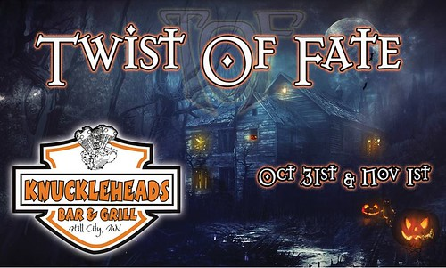 10/31/14 & 11/01/14 Twist of Fate @ Knuckleheads Bar & Grill, Hill City, MN