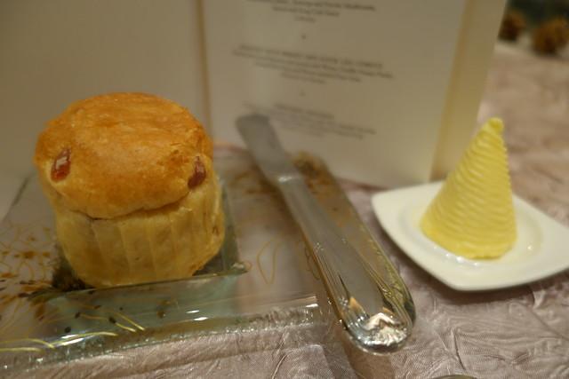 Cranberry Brioche - St Regis Singapore Festive Dining 2014