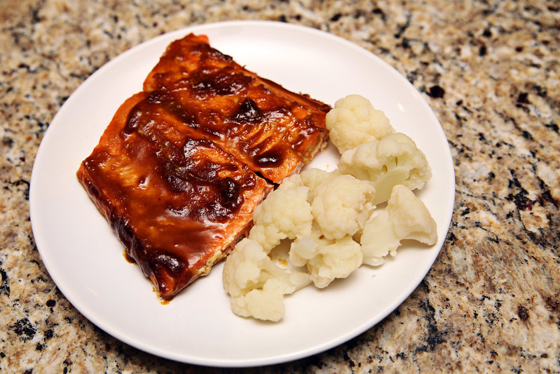 Maple Curry Salmon