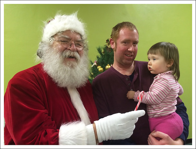 Madeleine And Santa 2014-12-14 1