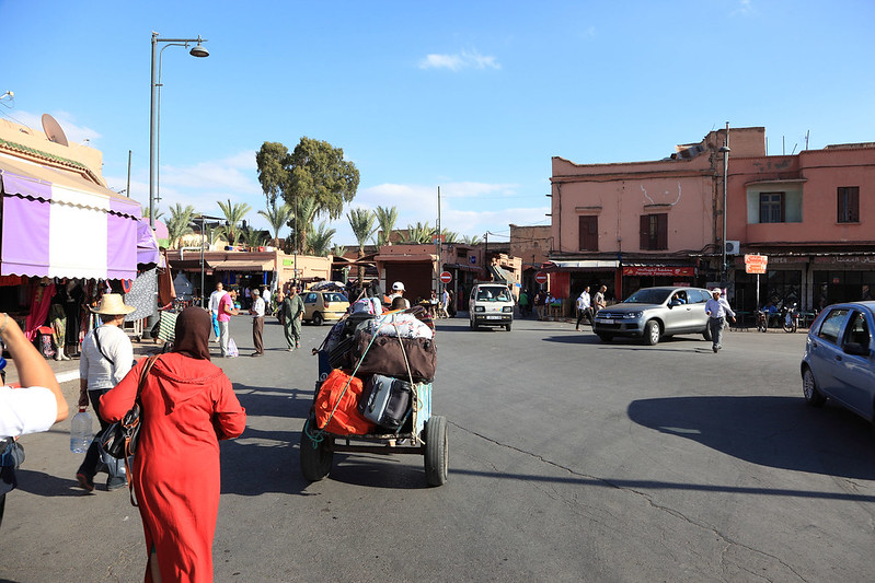 Arriving in Marrakesh