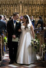 Walking down the aisle as man and wife