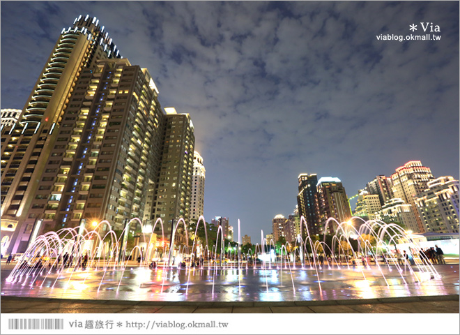 【大都會歌劇院】台中國家歌劇院~夜間水舞篇。光舞紀/光影藝術節19