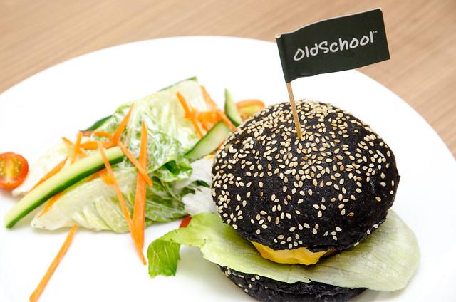 Chicken Burger at Old School