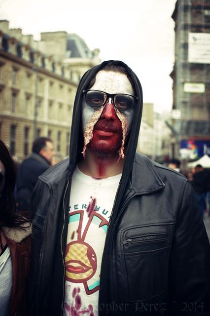 Zombie Walk ~ Paris, France ~ 2014