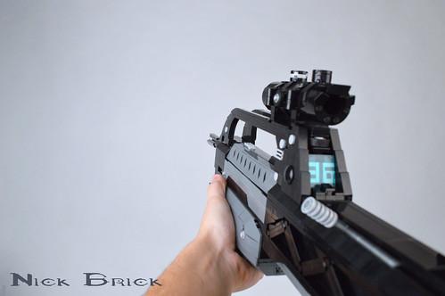 Halo 2 Anniversary BR55 Battle Rifle