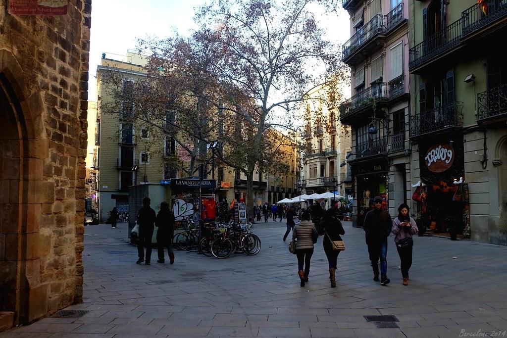 Barcelona day_1, Plaçeta del Pi