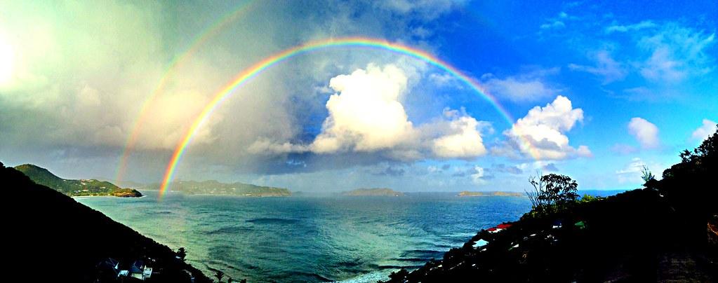 Caribbean rainbow.       X2