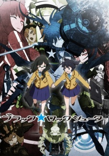 Black Rock Shooter [Bản Blu-ray] - Black★Rock Shooter (TV) | BRS