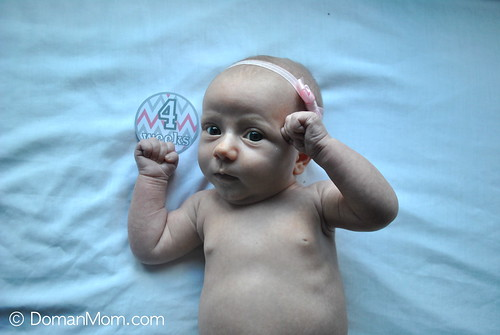 4 Weeks Old: Newborn Early Learning Program