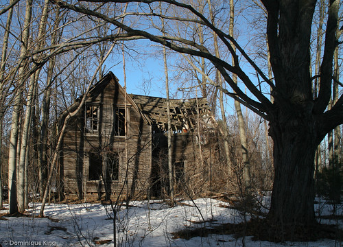Spooky House, Weaver Farm, Port Oneida, Michigan