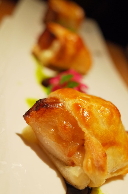 square simmered pork with pie wrap