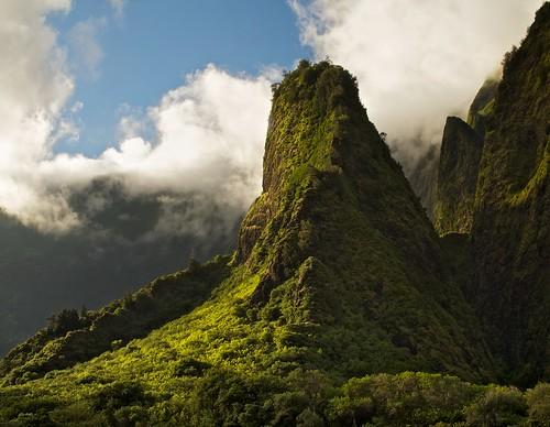 green hawaii maui iaoneedle lush iaovalleystatepark
