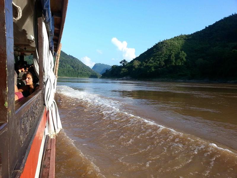 Navegando por el Mekong, Laos, ©evaespinet