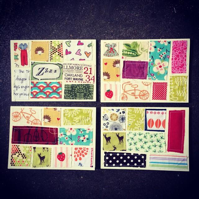 4 more scrap cards. :)