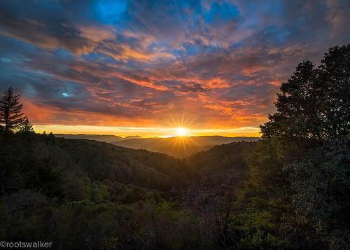 california sunset color clouds saratoga burn openspace santacruzmountains skylineblvd distagon nikond800 distagont2815 escaype