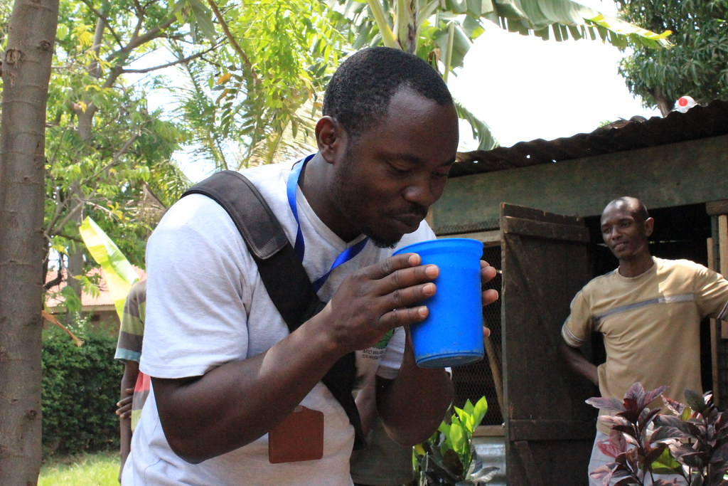 Rwanda is famous for Urwagwa or Banana beer served in traditional containers. Urwagwa is a local Rwandan brew made out of crushed banana nectar.