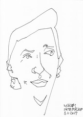 A Drawing a Day #15: Kate for JKPP #ADrawingADay, #Drawing, #Jkpp, #JuliaKaysPortraitParty
