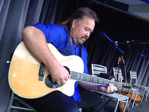 sonny lim guitar courtesy of Ken Martinez Burgmaier Hawaii On TV