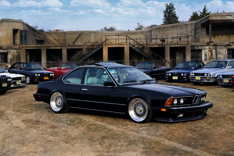 18 Quot Chrome Bbs Rs 24k Gold Coilovers And 635csi L6