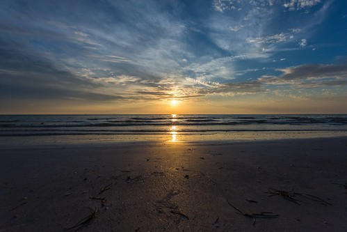 park sunset beach fort desoto
