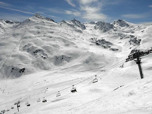 Mont du Vallon a údolní přejezd zVal Thorens