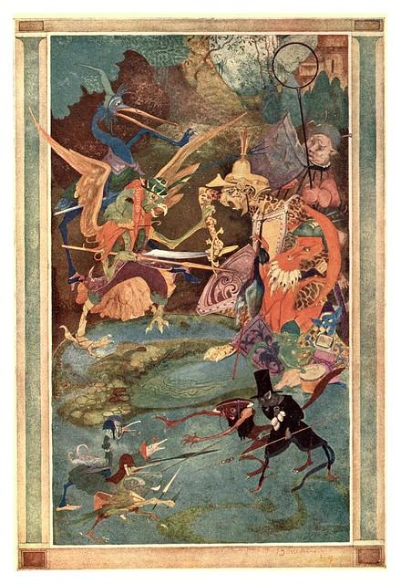 011-Folk tales of Flanders (1918)- Jean de Boschère