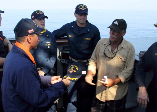 USS Paul Hamilton Rescues Missing Mariner