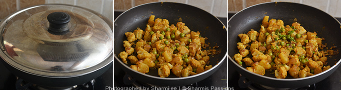 How to make aloo gobi matar - Step4