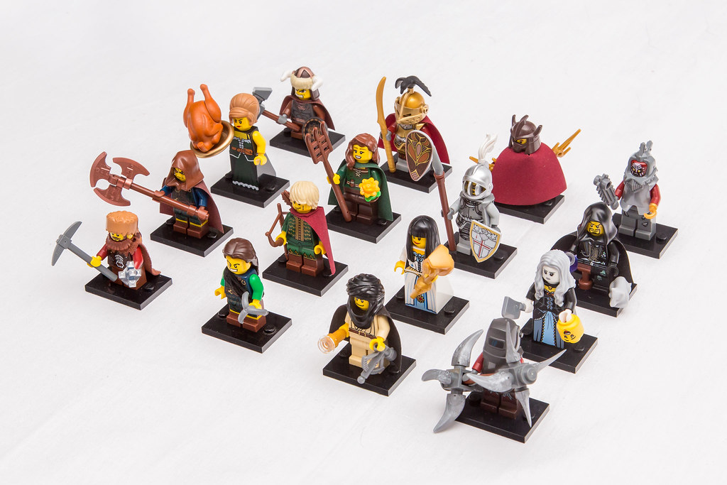[Guilds of Historica]: Gunman's Collectible minifigures series 15826589006_ccc2d95eae_b