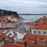 Piran, looks over the city