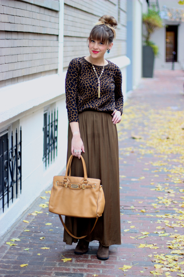 Style Tab, Thanksgiving Outfit idea, Style Scenario