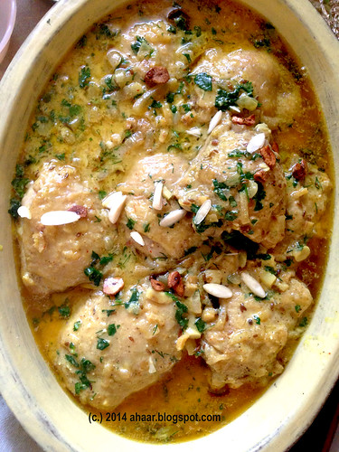 Persian yogurt chicken