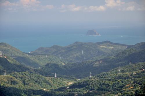 風櫃嘴遠眺基隆嶼