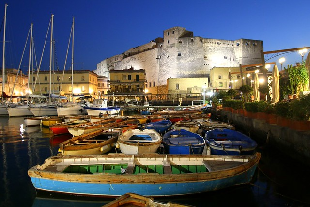 ABM (Another Blue Monday) / Castel dell'Ovo (Egg castle), Naples, Italy