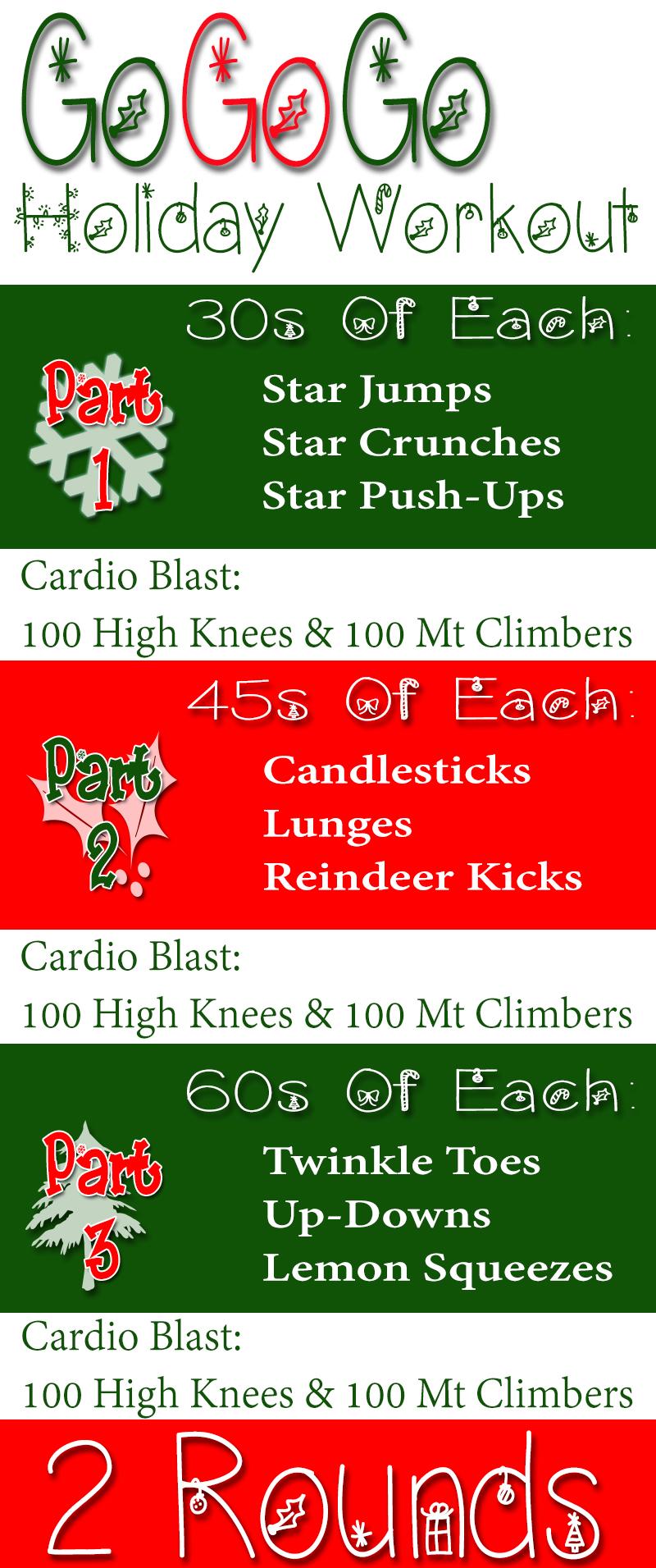 Christmas Bodyweight Bootcamp Workout - RunToTheFinish