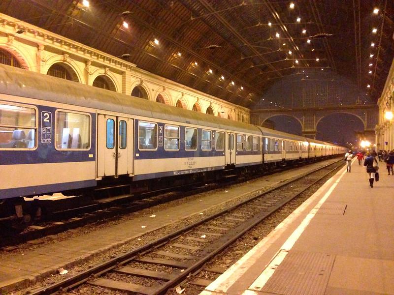 Budapest Keleti Rail Station -